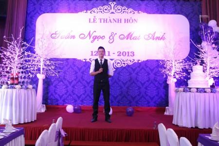 hình mc tiệc cưới