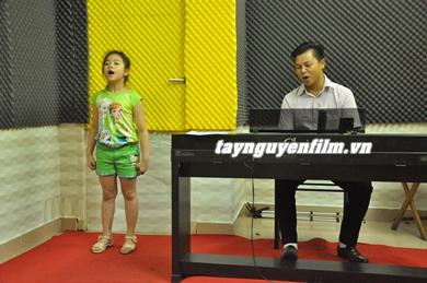 khóa học hát trẻ em