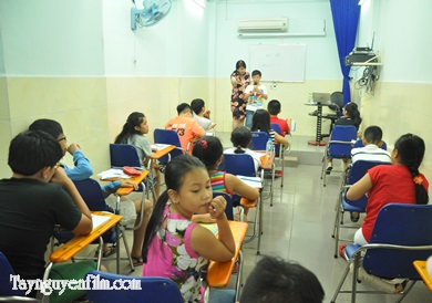 Lớp học mc cho trẻ em
