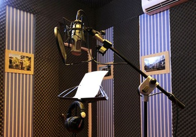 phòng thu âm cho ca sĩ