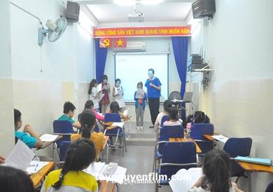 lớp học diễn xuất nhí