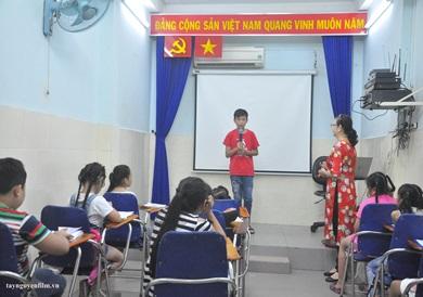 lớp dạy mc nhí cấp tốc tại quận 5