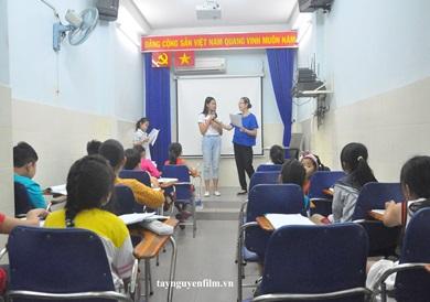 lớp dạy mc nhí cấp tốc tị quận 5