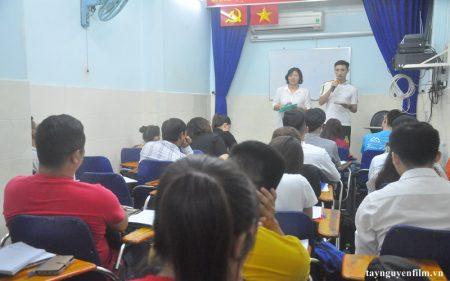 khai giảng khóa học luyện sửa phát âm tháng 7. 2020