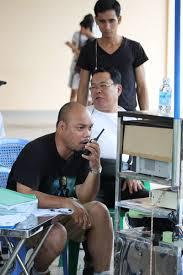 Đạo diễn Vũ Hưng chỉ huy phim trường