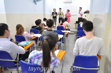 khóa học mc cho sinh viên