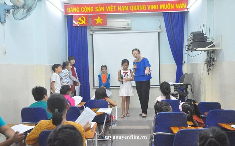 dạy thuyết trình cho trẻ