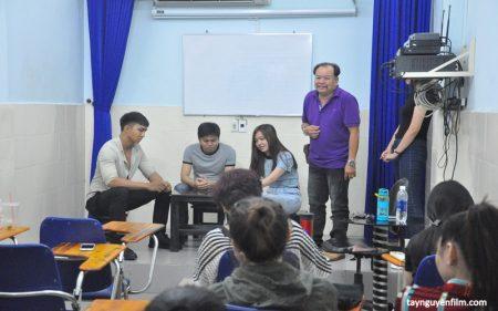 lớp dạy diễn viên chuyên nghiệp