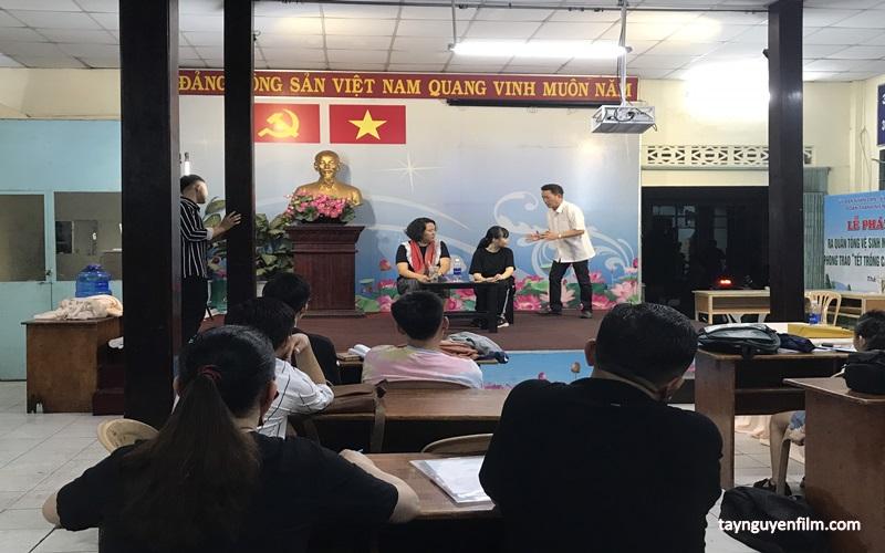 lớp học diễn xuất ngắn hạn tp.hcm