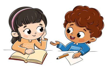 học kỹ năng thuyết trình online cho bé