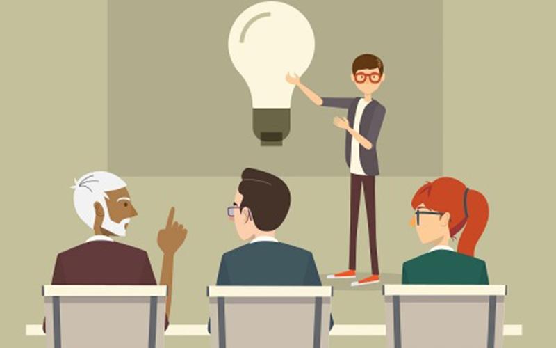 học thuyết trình hay online