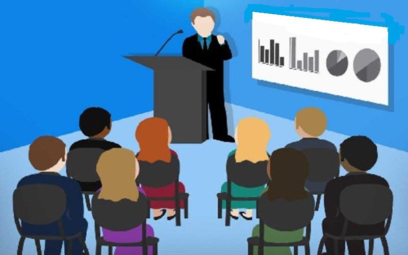 lớp học nói trước công chúng online