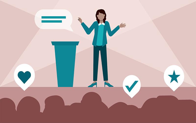 luyện thuyết trình giỏi online